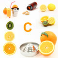 Vitamin C Royalty Free Stock Photography