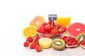 Vitamin c food Royalty Free Stock Photo