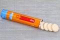 Vitamin C and Zinc Royalty Free Stock Photo