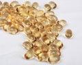 Vitamin för pills för D-fokusframdel Arkivfoton