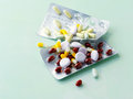 Vitamin Pills Stock Photography