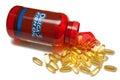 Vitamins Omega 3 Stock Image