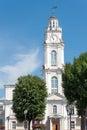 Vitebsk city hall clock tower of belarus Stock Photo
