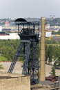 Vitkovice mining tower Stock Photos