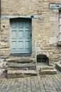 Vitre entrance of a old house in brittany france Stock Images