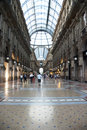 Vittorio Emanuele gallery - Milan Royalty Free Stock Photography