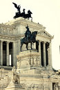 Vittorio Emanuele in Rome, Italy Stock Photography
