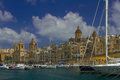 stock image of  Vittoriosa, one of the three cities of Malta
