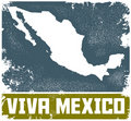 Viva Mexico Royalty Free Stock Photography