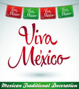 Viva mexico mexican holiday vector decoration easy edit Stock Photos