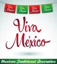 Ústna skúška mexiko mexičan dovolenka vektor dekorácie