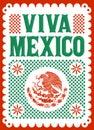 Ústna skúška mexiko mexičan dovolenka vektor plagát ulice dekorácie ilustrácie