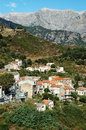 Vivario village, Corsica Royalty Free Stock Images