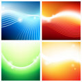 Vivid backgrounds of streams Royalty Free Stock Images