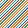 Vivid colors diagonal stripes abstract background. Thin slanting line wallpaper. Seamless pattern with classic motif.