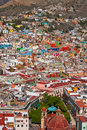 Vivid colors of guanajuato mexico february world heritage site historic city view th century buildings and houses Royalty Free Stock Image