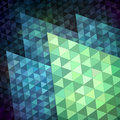 Vivid mosaic background made of triangles Stock Image