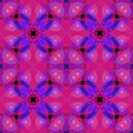 Vivid pink purple modern abstract texture. Seamless tile. Detailed background illustration. Textile print pattern. Home decor fabr Royalty Free Stock Photo