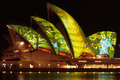 Vivid Sydney Festival - Opera House Royalty Free Stock Images
