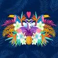 Vivid Tropical Love