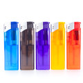 Vividly coloured plastic lighters Stock Photo