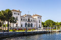Vizcaya Museum and Gardens in Miami, Florida Royalty Free Stock Photo