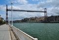 Vizcaya transporter bridge. Portugalete, Spain Royalty Free Stock Photo
