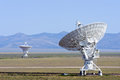 VLA radio telescope Stock Images