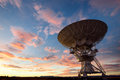 VLA radio telescope Royalty Free Stock Image
