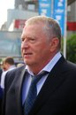 Vladimir Zhirinovsky at Moscow Film Festival Royalty Free Stock Photography