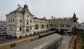 Vladivostok railway station, Russia Royalty Free Stock Photo