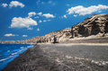 Vlichada beach, Cyclade islands, Greece Royalty Free Stock Photo