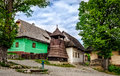 Vlkolinec traditional village in Slovakia, Europe