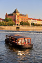 Vltava river in Prague Royalty Free Stock Images