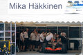 Vodafone McLaren Mercedes F1 Car; Mika Hakkinen Royalty Free Stock Photos