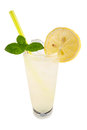 Vodka lemon Stock Photography