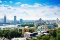 Vogelperspektive von jekaterinburg Lizenzfreies Stockfoto