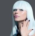 Vogue Style Model Portrait