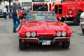 Voiture de sport chevrolet corvette sting ray convertible c Photographie stock