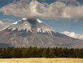 Volcan Cotapaxi Royalty Free Stock Photo