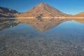 Volcan licancabur com paisagens lindos de sur lipez b sul Foto de Stock