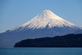 Volcan Osorno in Chile Royalty Free Stock Photo