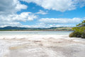 Volcanic Lake Rotorua -  New Zealand. Royalty Free Stock Images