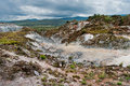 Volcanic landscape. Kenya Royalty Free Stock Photo