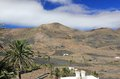 Volcanic landscape lazarote lanzarote canary islands Stock Images
