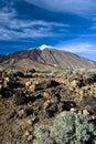 Volcano el Teide Royalty Free Stock Photography
