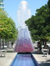 Volcano fountain Royalty Free Stock Photo