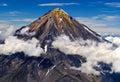 Volcán en