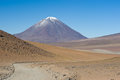 Volcano Lincancabur, Bolivia Royalty Free Stock Photo