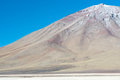 Volcano Lincancabur, Bolivia Royalty Free Stock Photography